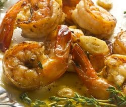 fried potuguese garlic shrimp recipe