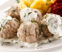 slow cooker creamy veal meatballs recipe
