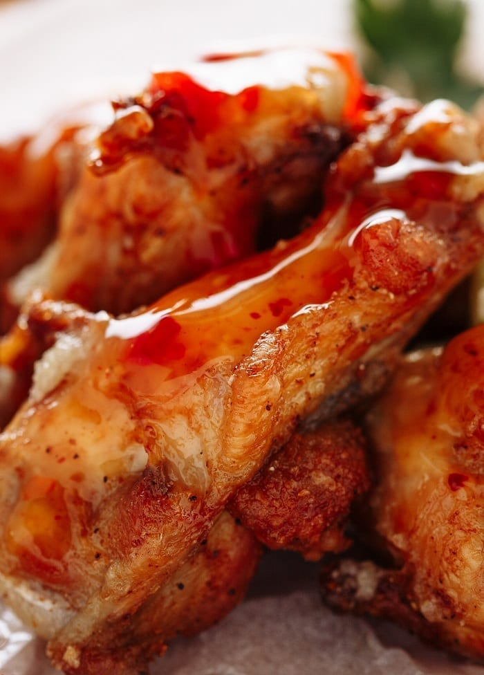 slow cooker apricot bbq chicken wings recipe