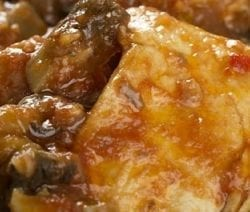 slow coker merlo chicken with mushrooms recipe