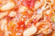 slow cooker turkey bean and pasta stew recipe