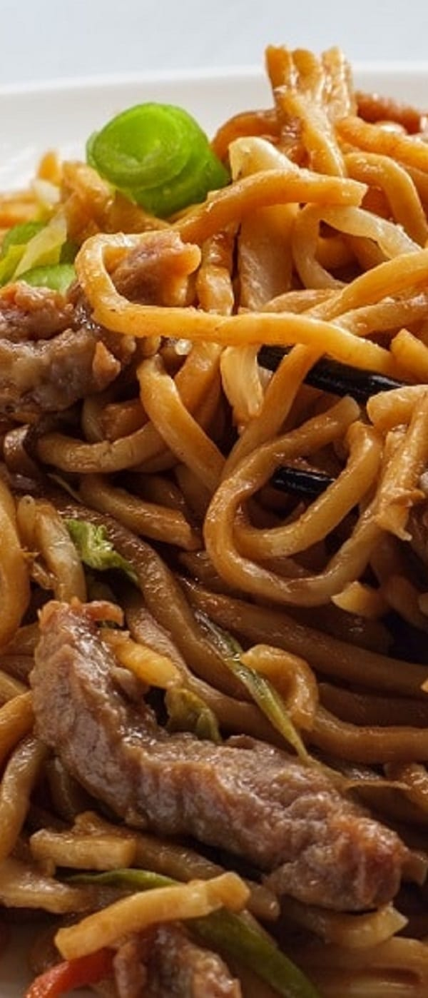 instant pot beef lo mein recipe