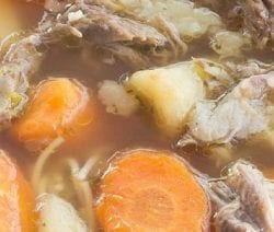slow cooker beef beer and vegetable soup recipe