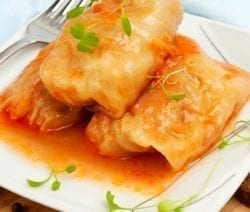 slow cooker easy vegetarian cabbage rolls recipe