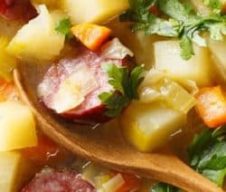 slow cooker german potato soup recipe