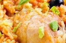 pressure cooker chicken rice casserole recipe