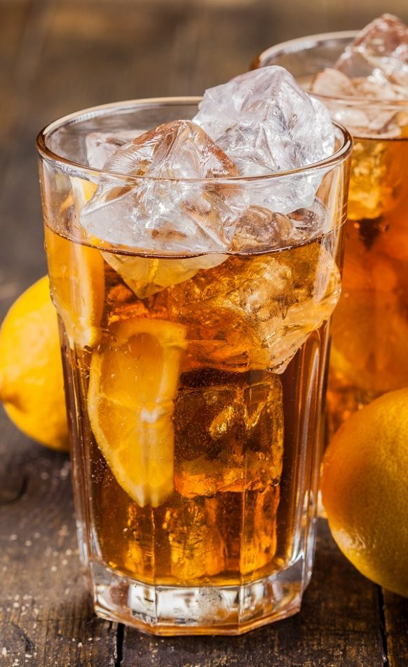 Tokyo iced tea. This is an alcoholic drink, which contains a lot of alcohol, such as vodka, gin, rum, tequila. Very easy and delicious! #beverages #tea #recipes #drinks #easy #summer #refreshing