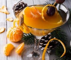 classic citrus martini drink recipe