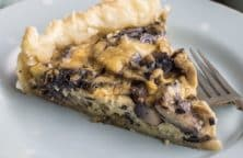 the best baked mushroom tart recipe