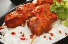baked tandoori chicken kebabs recipe