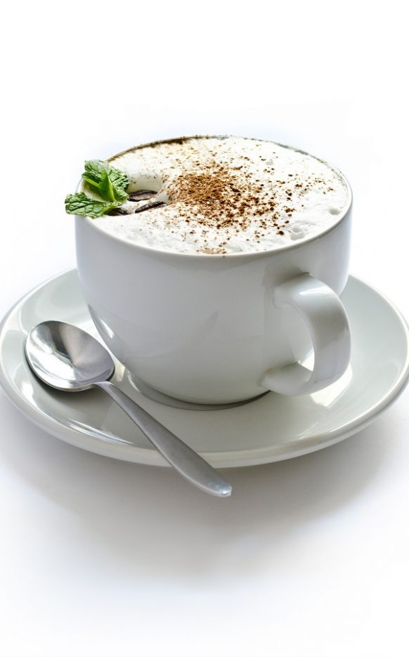 Chocolate mint coffee. Very tasty and healthy coffee recipe. #coffee #beverages #drinks #easy #healthy #chocolate #magicskilletrecipes