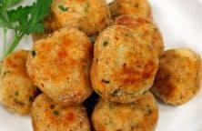 fried chicken meatballs recipe