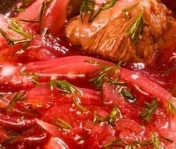 slow cooker beef and borscht stew recipe