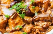 slow cooker curried eggplants recipe