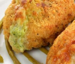 baked broccoli-stuffed chicken breasts recipe