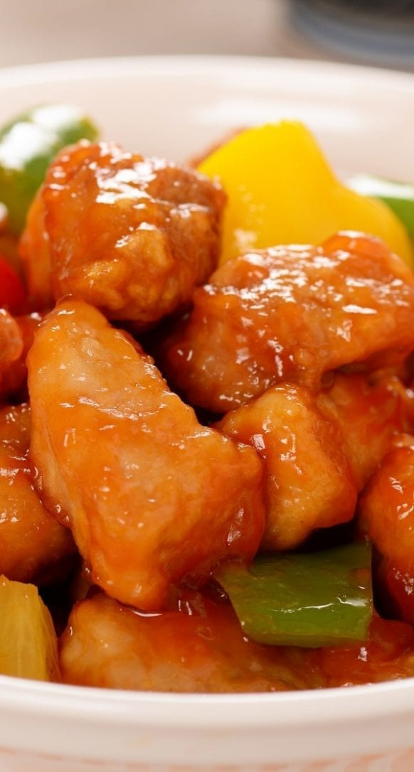 instant pot sweet and sour pork recipe