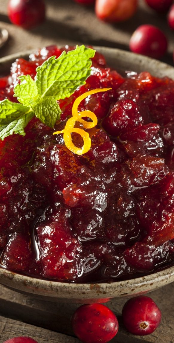 Pressure cooker cranberry sauce recipe. Cranberry port sauce with tart dried cherries cooker in a pressure cooker. #pressurecooker #instantpot #dinner #sauce #easy