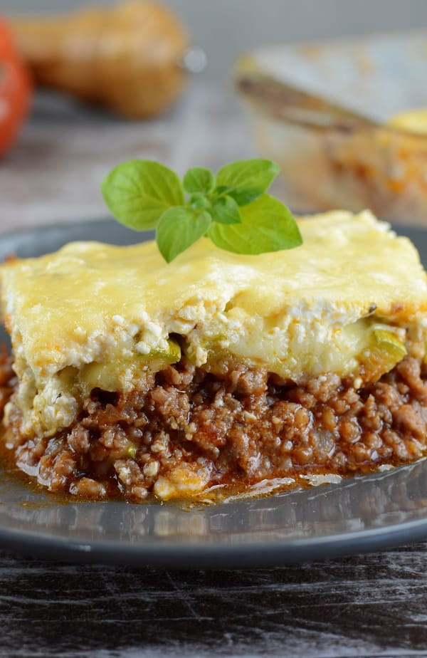 slow cooker low-carb zucchini lasagna #slowcooker #crockpot #lasagna #dinner #homemade #lowcarb