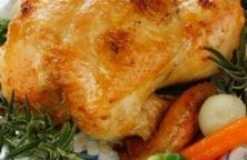 slow cooker whole chicken with vegetables