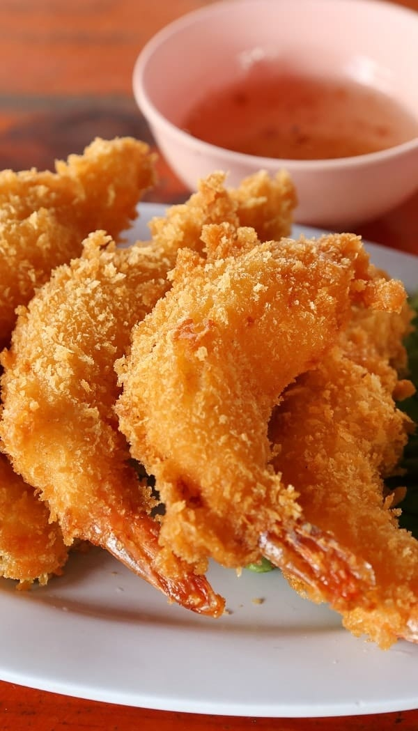 Air Fryer tempura shrimp recipe. Learn how to cook the best Asian tempura shrimp in an air fryer. Quick and delicious appetizer! airfryer #dinner #appetizers 3party #shrimp #tempura #asian