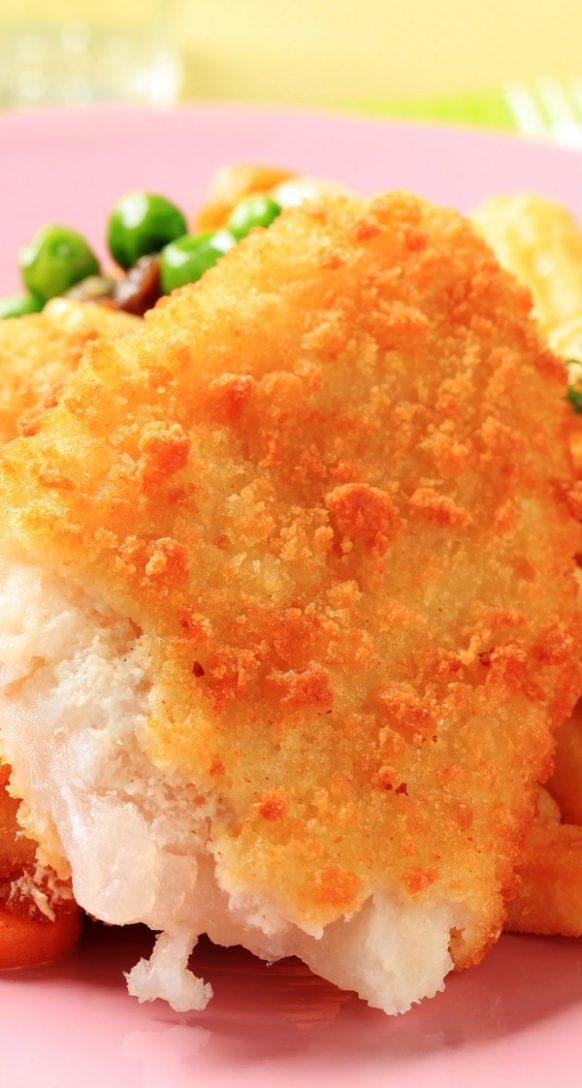 Air fryer breaded cod fillets recipe. Learn hot to cook delicious crusted cod fillets in an air fryer. #airfryer recipes #dinner #seafood #cod #dinner #fillets