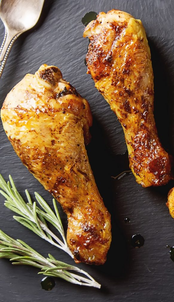 Air fryer curry chicken drumsticks recipe. Learn how to cook delicious chicken drumsticks with spices in an air fryer. #airfryer #dinner #chicken #spicy #homemade #drumsticks