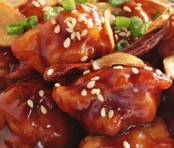 Air fryer general Tso chicken recipe. Learn how cook super delicious chicken in an air fryer. #airfryer #dinner #chicken #delicious #easy #homemade