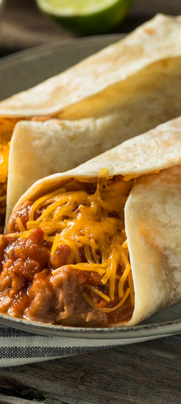 Air fryer Mexican burritos recipe. Learn how to cook popular Mexican burritos in an air fryer. #airfreyer #breakfast #easy #burritos #mexican