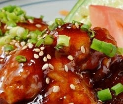 Air Fryer teriyaki chicken recipe. Learn how to cook delicious Asian chicken an air fryer. #airfreyr #dinner #chicken #homemade