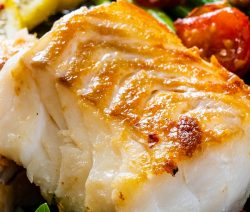 Air fryer honey cod fillets recipe. Learn how to cook delicious cod fillets in an air fryer. #airfryer #dinner #seafood #cod #roasted