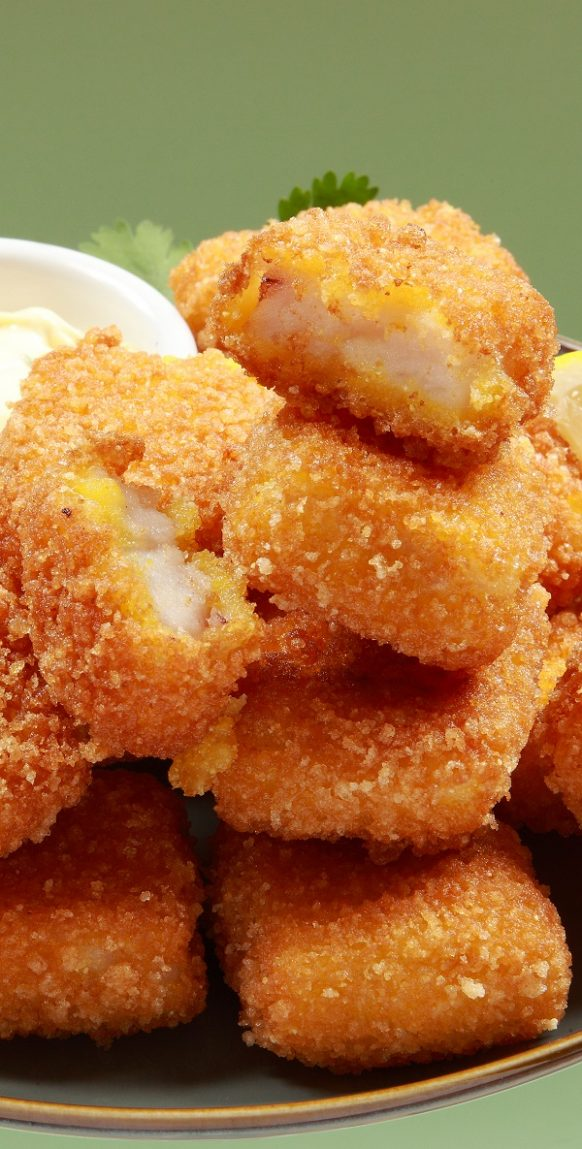 Air fryer breaded cod fingers recipe. Crispy and delicious cod fingers fried in an air fryer. #airfryer #dinner #appetizers #cod #fish #seafood