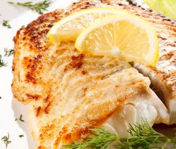 Air fryer baked flounder fillets recipe. Flounder fillets fried in an air fryer. Easy and delicious! #airfryer #fish #seafood #dinner #lunch #fillets