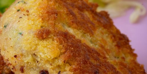 Air fryer crusted tuna cakes recipe. Learn how to cook easy and yummy tuna cakes in an air fryer. #airfryer #tuna #dinner #cakes #lunch #yummy #fish #seafood