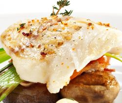 Air fryer halibut fillets recipe. Halibut fried in an air fryer. Healthy and delicious! #airfryer #dinner #autumn #halibut #fish #seafood #lunch
