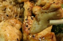 Air fryer Hibachi chicken recipe. Learn how to cook yummy Japanese chicken in an air fryer. #airfryer #chicken #dinner #recipes #lunch #japanese #hibachi