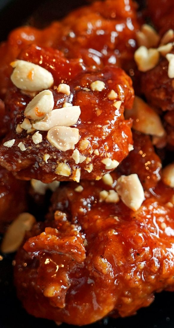 Air fryer Korean chicken thighs recipe. Learn how to cook crispy and delicious chicken thighs in an air fryer. #airfryer #chicken #thighs #crispy #spicy #sweet #dinner #delicious #lunch