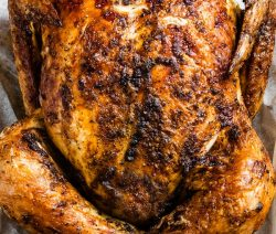 Air fryer whole chicken recipe. Learn how to cook whole chicken in an air fryer. Simple and delicious! #airfryer #simple #dinner #chicken #recipes #lunch #delicious #easy