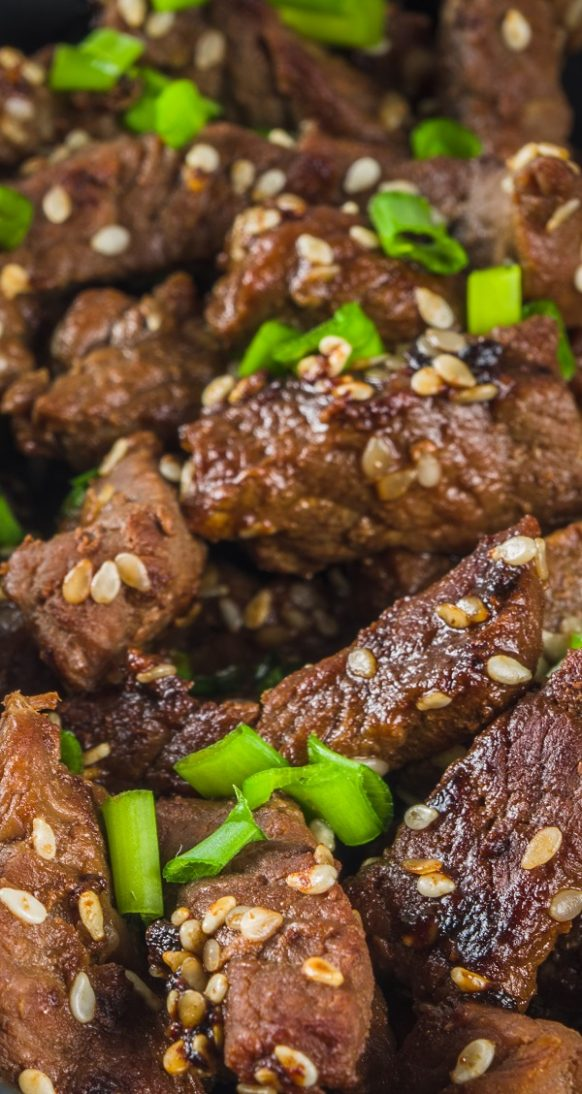 Instant pot Korean beef recipe. Boneless beef chuck roast with spices cooked in an electric instant pot. Easy and tasty! #pressurecooker #instantpot #beef #recipes #dinner #lunch #korean