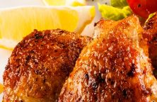 Air fryer chicken thighs recipe. learn how to cook crispy and juicy chicken thighs in an air fryer. #airfryer #dinner #chicken #thighs #easy #crispy #juicy #delcious