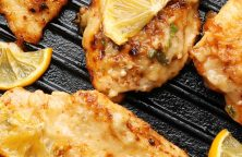 Air fryer chicken piccata recipe. Learn how to cook yummy Italian chicken piccata in an air fryer. #airfryer #chicken #dinner #italian #piccata#chickenbreasts