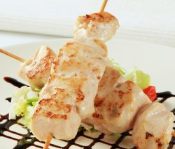 Air fryer Japanese chicken skewers recipe. Learn how to cook yummy Asian chicken in an air fryer. #airfryer #chicken #skewers #japnese #dinner #easy